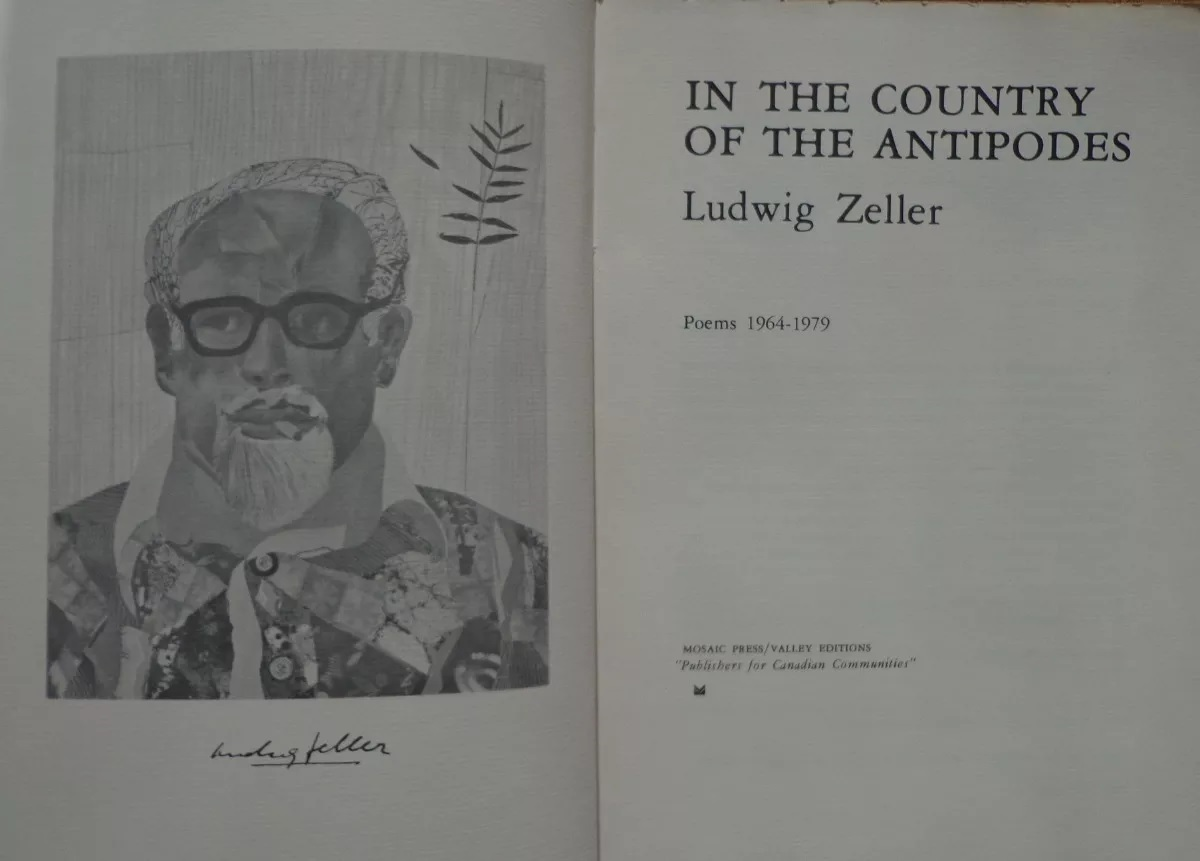 Ludwig Zeller.In the country of the antipodes : poems 1964-1979
